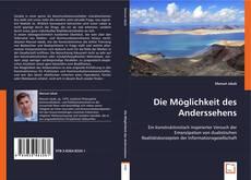Bookcover of Die Möglichkeit des Anderssehens