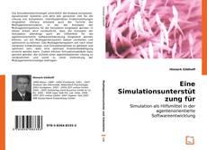 Bookcover of Eine Simulationsunterstützung für Agentenplattformen