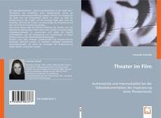Couverture de Theater im Film