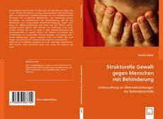 Copertina di Strukturelle Gewalt gegen Menschen mit Behinderung