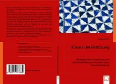 Bookcover of Soziale Unterstützung