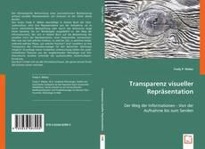 Buchcover von Transparenz visueller Repräsentation