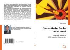 Buchcover von Semantische Suche im Internet