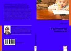 Bookcover of Prädiktoren des Leseerwerbs