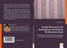 Capa do livro de Sound Recovery from Gramophone Records by 3D Reconstruction