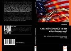 Portada del libro de Antiamerikanismus in der 68er-Bewegung?
