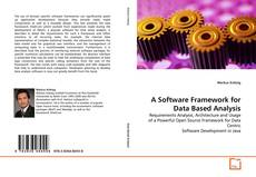 Portada del libro de A Software Framework for Data Based Analysis