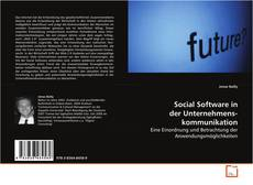 Borítókép a  Social Software in der Unternehmenskommunikation - hoz