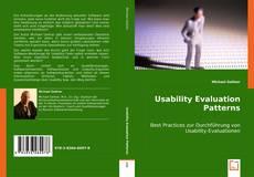 Portada del libro de Usability Evaluation Patterns