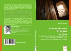 Buchcover von Johann Gustav Droysen in Jena