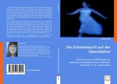 Buchcover von Die Schwindsucht auf der Opernbühne