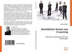 Capa do livro de Betrieblicher Nutzen von E-Learning