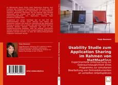 Borítókép a  Usability Studie zum Application Sharing im Rahmen von NetMeeting - hoz