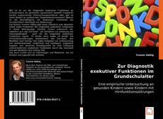 Capa do livro de Zur Diagnostik exekutiver Funktionen im Grundschulalter