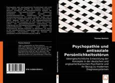 Bookcover of Psychopathie und antisoziale Persönlichkeitsstörung