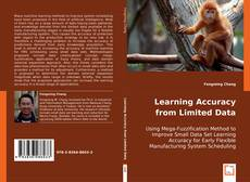 Bookcover of Learning Accuracy from Limited Data