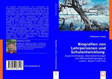 Buchcover von Biografien von Lehrpersonen und Schulentwicklung