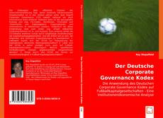 Portada del libro de Der Deutsche Corporate Governance Kodex