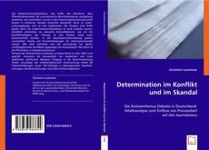 Capa do livro de Determination im Konflikt und im Skandal