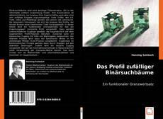 Bookcover of Das Profil zufälliger Binärsuchbäume