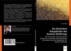 Capa do livro de Die deutschen Kriegskinder des Zweiten Weltkriegs