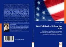 Buchcover von Die Politische Kultur der USA