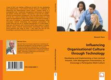 Bookcover of Influencing Organisational Culture through Technology