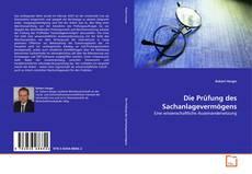 Capa do livro de Die Prüfung des Sachanlagevermögens