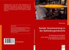 Bookcover of Soziale Verantwortung in der Bekleidungsindustrie