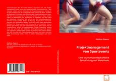 Bookcover of Projektmanagement von Sportevents