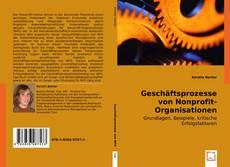 Bookcover of Geschäftsprozesse von Nonprofit-Organisationen