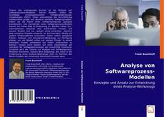 Couverture de Analyse von Softwareprozess-Modellen
