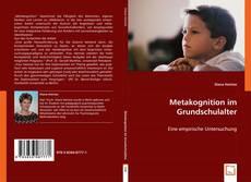 Buchcover von Metakognition im Grundschulalter