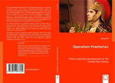 Couverture de Operation Praetorian