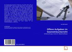 Обложка Offene Aufgaben im Geometrieunterricht