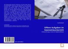 Offene Aufgaben im Geometrieunterricht kitap kapağı