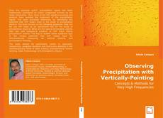 Capa do livro de Observing Precipitation with Vertically-Pointing Radar