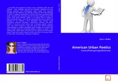 Bookcover of American Urban Poetics