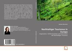 Capa do livro de Nachhaltiger Tourismus in Europa