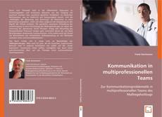 Обложка Kommunikation in multiprofessionellen Teams