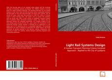 Buchcover von Light Rail Systems Design