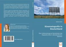 Capa do livro de Kinematografie in Deutschland