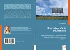 Обложка Kinematografie in Deutschland