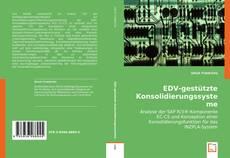 Portada del libro de EDV-gestützte Konsolidierungssysteme