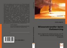 Bookcover of Wissenstransfer beim Outsourcing