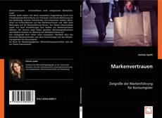 Capa do livro de Markenvertrauen