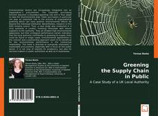 Bookcover of Greening the Supply Chain in Public Procurement