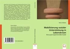 Bookcover of Mobilisierung sozialer Unterstützung in Lebenskrisen