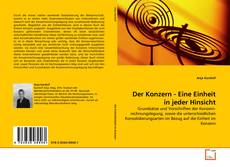 Capa do livro de Der Konzern - Eine Einheit in jeder Hinsicht