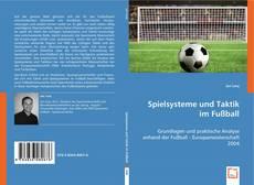 Spielsysteme und Taktik im Fußball kitap kapağı